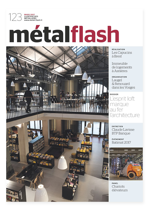 couverture magazine metal flash