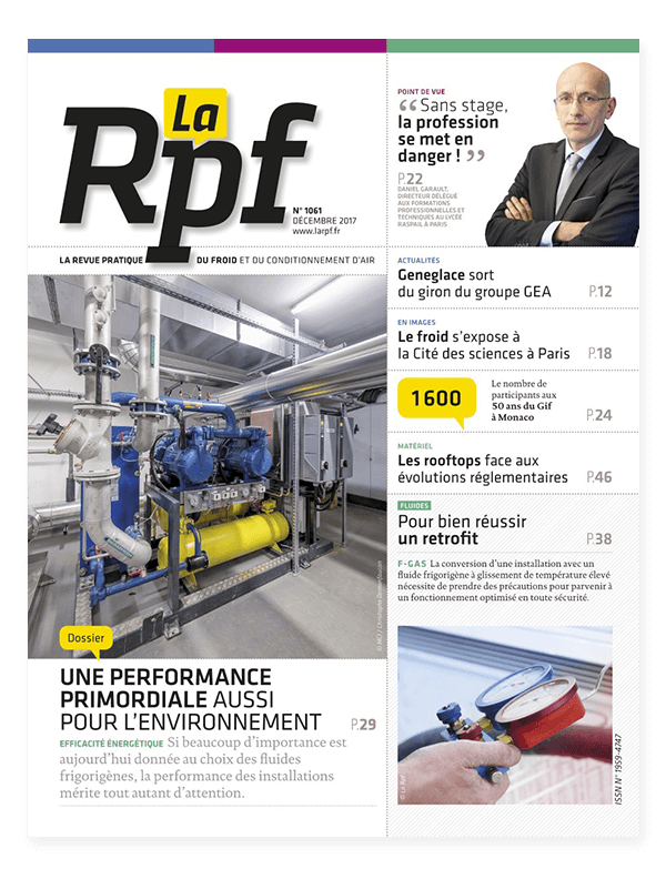 couverture magazine rpf